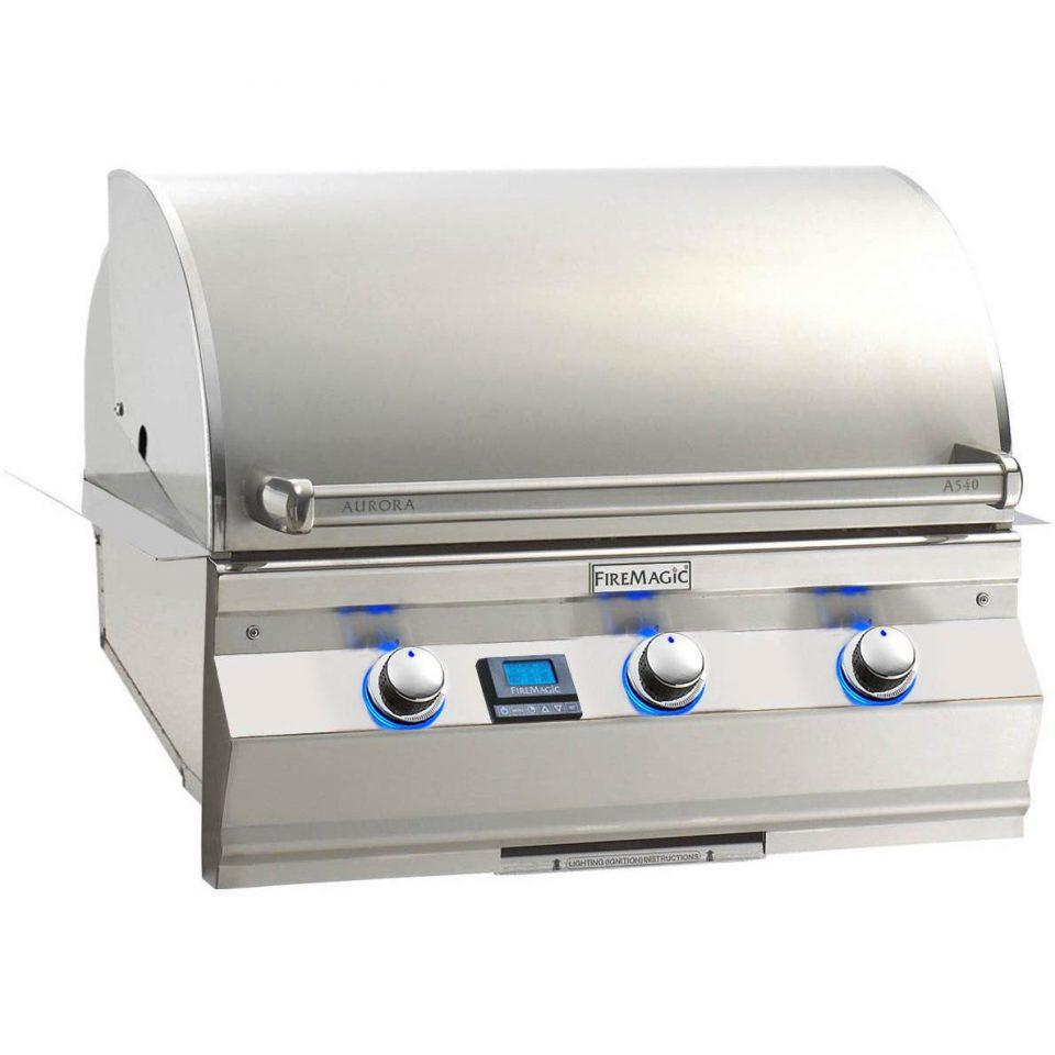 """Fire Magic Aurora A540i 30"""" Built-in Grill, A540i-5E1"""