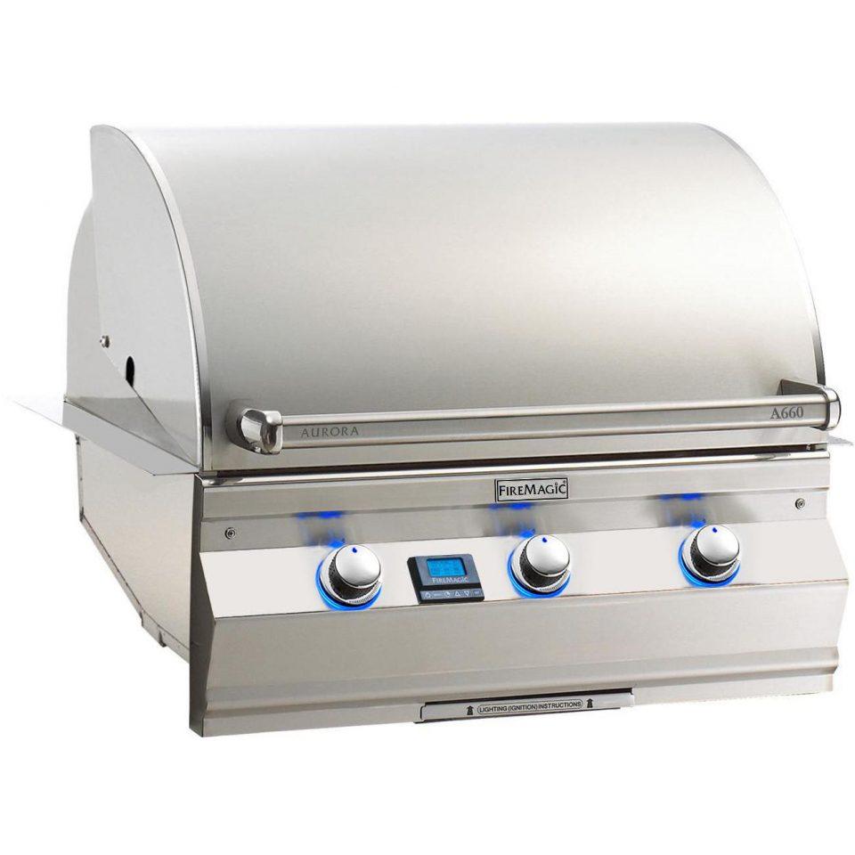 """Fire Magic Aurora A660 30"""" Built-in Grill, A660I-5E1"""