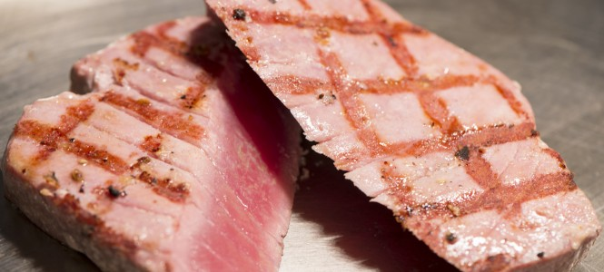 Fish - Grilled Yellowfin Tuna Steaks