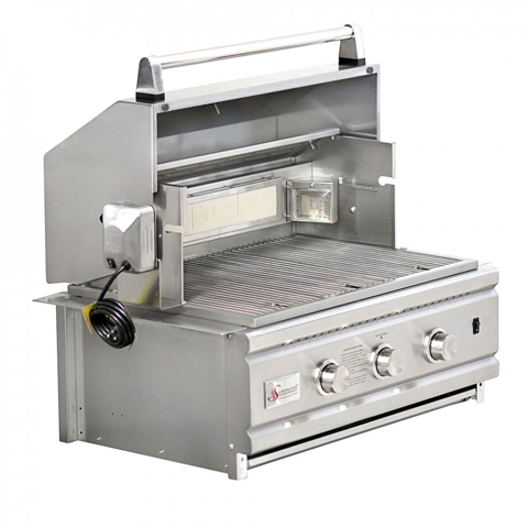 """Summerset Pro 27"""" Built-in Grill Stainless Steel, SS27PRO"""