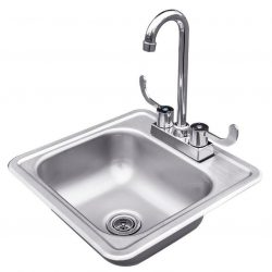 RCS Stainless Sink & Faucet, RSNK1