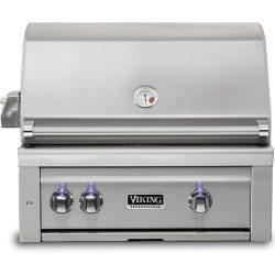 """Viking 30""""W. Built-in Grill w/ ProSear Burner and Rotisserie, VQGI5300"""