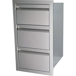 "RCS 17"" Valiant Series Triple Drawer, VTD3"